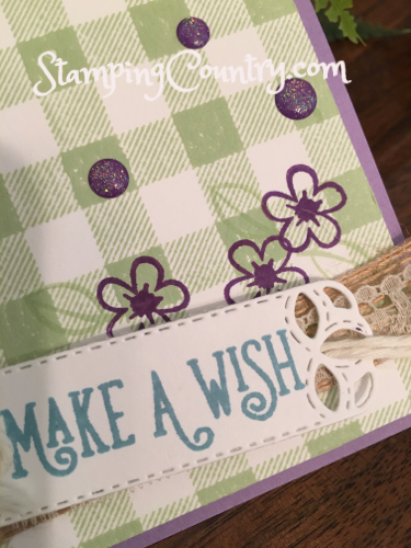 Happy Birthday Gorgeous Stampin' Up!S