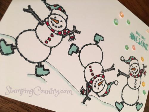 Spirited Snowmen Stampin' Up!