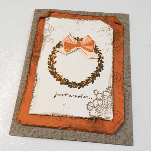 Wishing You Well Card by Lori Ballitch