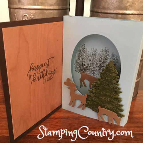 Winter Woods Dashing Deer Stampin' Up!