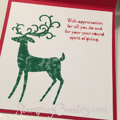 Dashing Deer Stampin' Up!