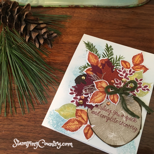 Autumn Get Well Card