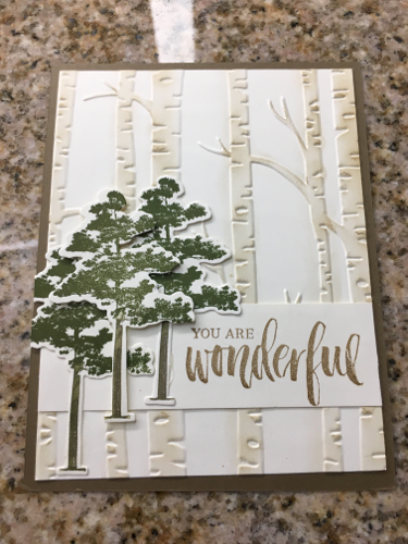 Janet Moore Rooted in Nature Card
