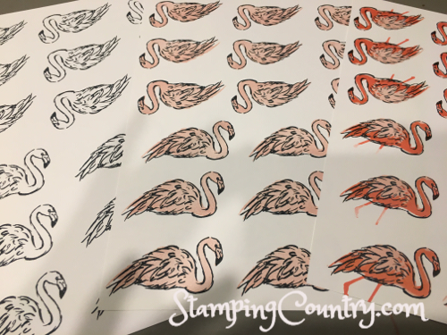 Fabulous Flamingo Stampin' Up!