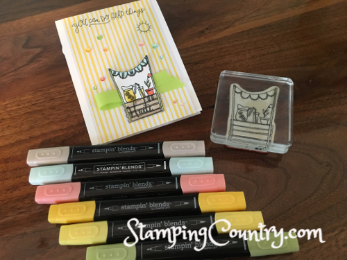 Sunny Days Stampin' Up!