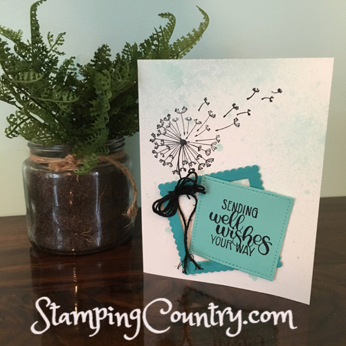 Dandelion Wishes Stampin' Up!