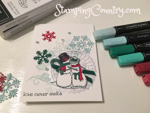 Spirited Snowmen Stampin' Up!