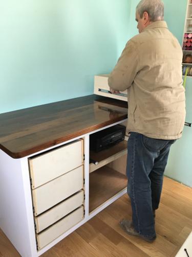 Joe Feicht Craft Room Project