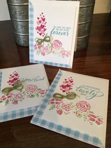 ver Lovely Stampin' Up!  #StampingCountry