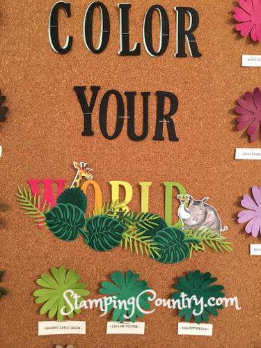 Color Your World Bulletin Board