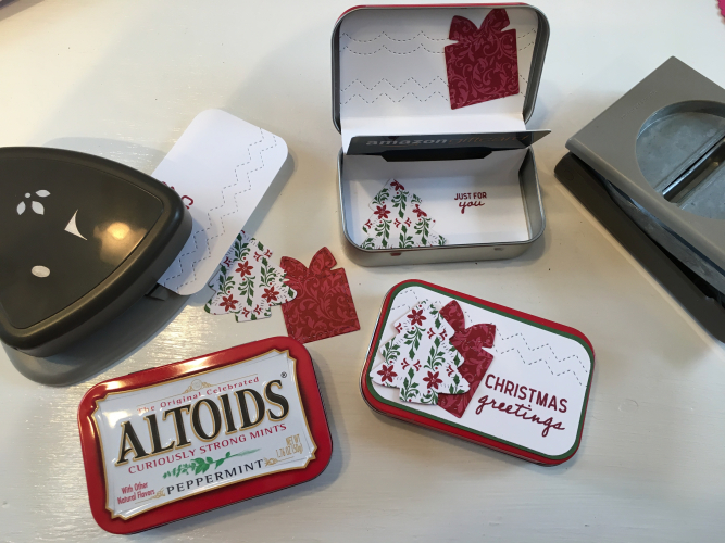 ALTOIDS Gift Card Holder by Robin Feicht