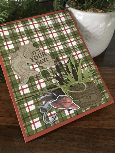 Best Catch Stampin' Card by Robin Feicht