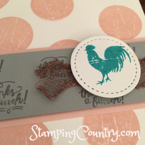 Wood Words Stampin' Up!