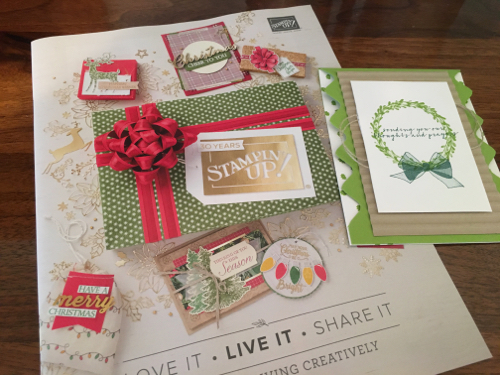 Stampin' Up! Holiday Catalog