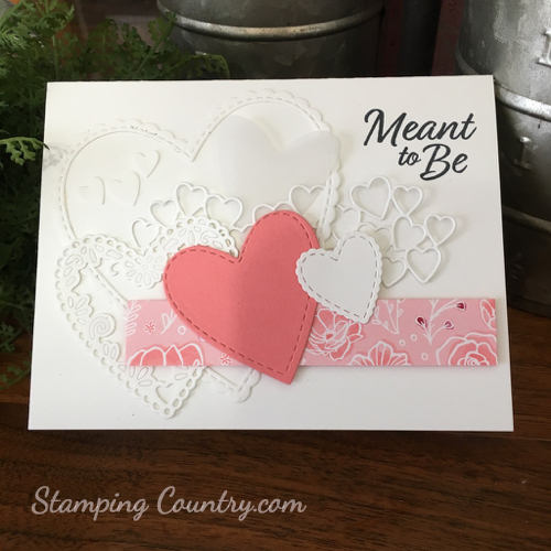 Be Mine Stampin' Up!