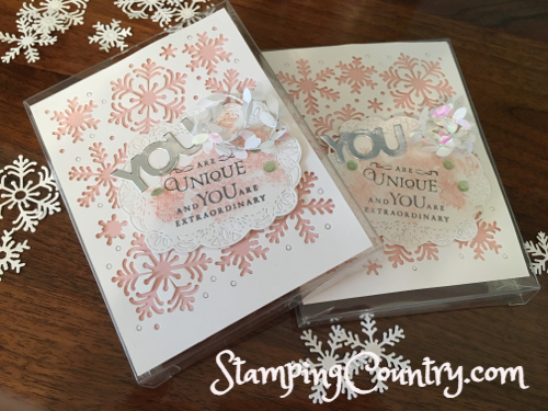 Beautiful Blizzard Stampin' Up!