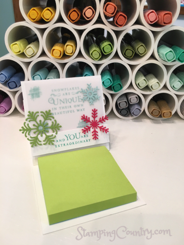 Desktop Post-It Note Gift Idea
