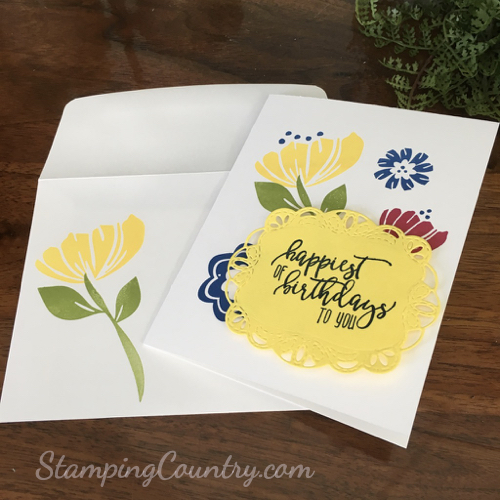 Bloom by Bloom Stampin' Up!