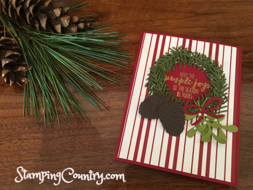 Christmas Pines Stampin' Up!