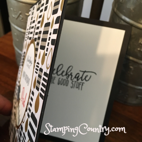 Hand Stamped Card Idea by Robin Feicht