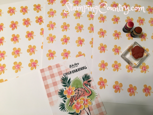 Tropical Chic Stampin' Up!