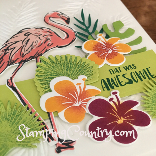 Fabulous Flamingo Tropical Chic Stampin' Up!
