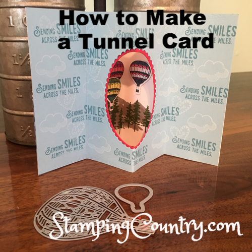 How to Make a Tunnel CardHo