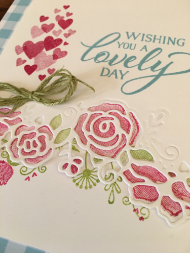 Forever Lovely Stampin' Up!  #StampingCountry