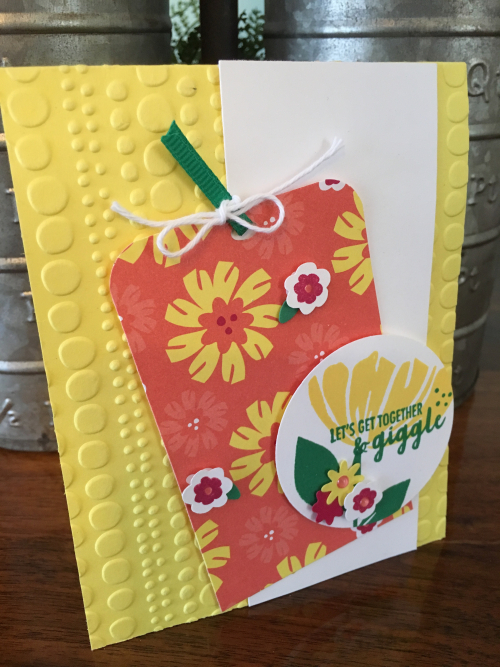 Happiness Blooms Card by Robin Feicht