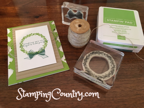 Wishing You Well Stampin' Up!