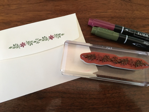 Hand Stamped Cards by Robin Feicht