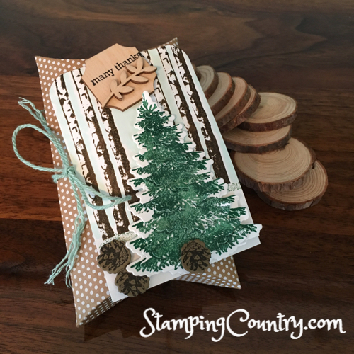 Winter Woods Stampin' Up!