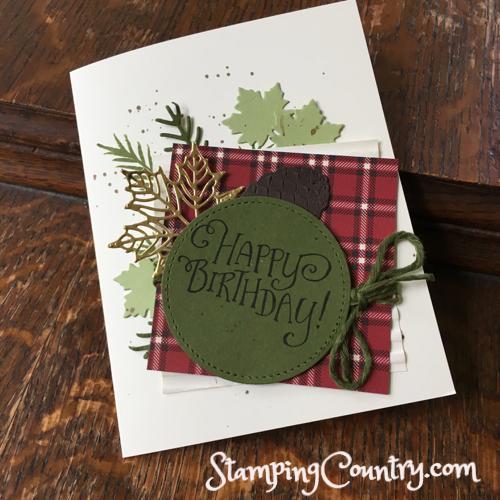 Seasonal Layers & Pretty Pines Stampin' Up!