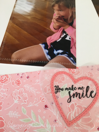 You Make Me Smile Scrapbook