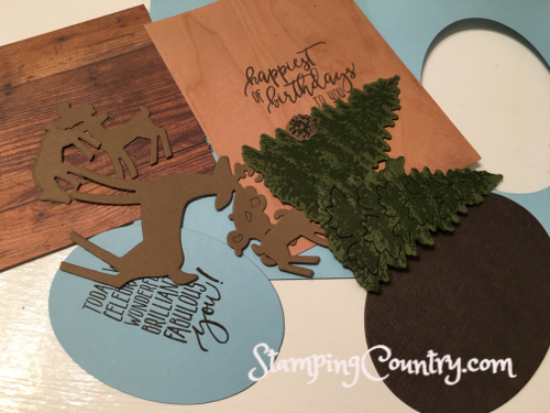 Dashing Deer Winter Woods Stampin' Up!