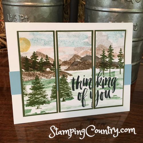 Waterfront Stampin' Up!