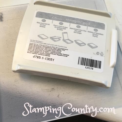 Stamping Technique