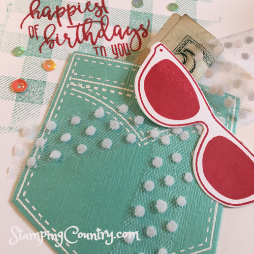 Pocketful of Sunshine Stampin' Up!