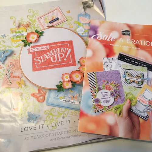 Stampin' Up! Occasions and Sale-a-Bration Catalogs 2018