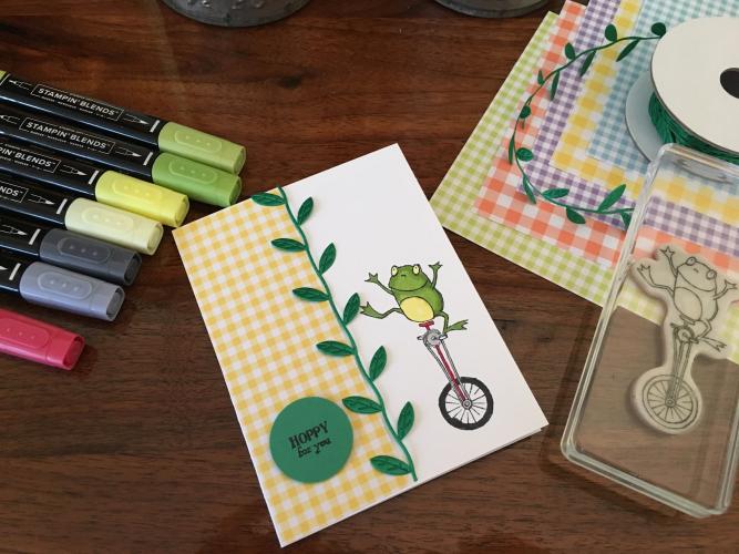 So Hoppy Together Card by Robin Feicht