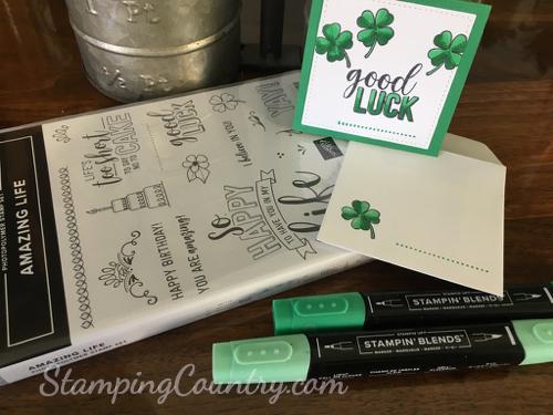 4 Leaf Clover Card