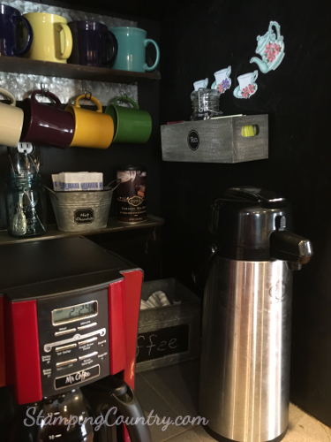 DIY Coffe Bar Ideas