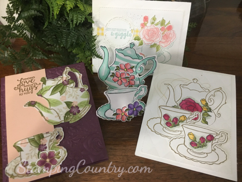 Tea Time Stampin' Up!