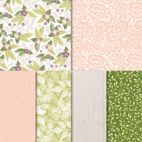Floral Romance Designer Paper Stampin' Up!