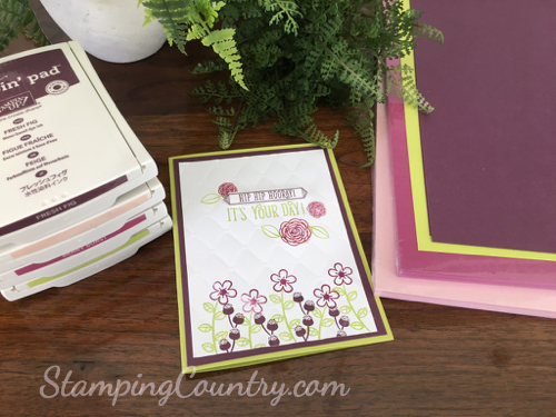 Happy Birthday Gorgeous Stampin' Up!