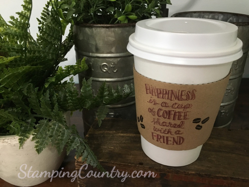 Coffee Cafe Stampin' Up!