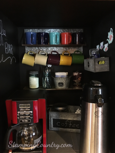 DIY Coffee Bar Ideas