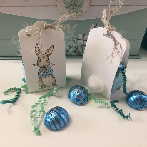 Learn to Make Bunny Treat Holders with Robin Feicht