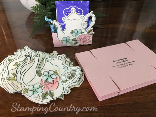 Tea Party Bridal Shower Favors