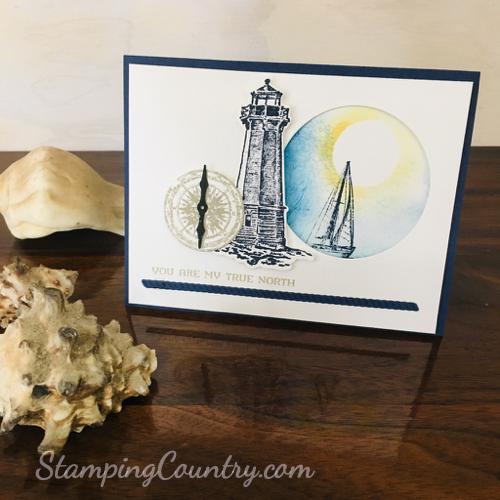 Sailing Home Stampin' Up!